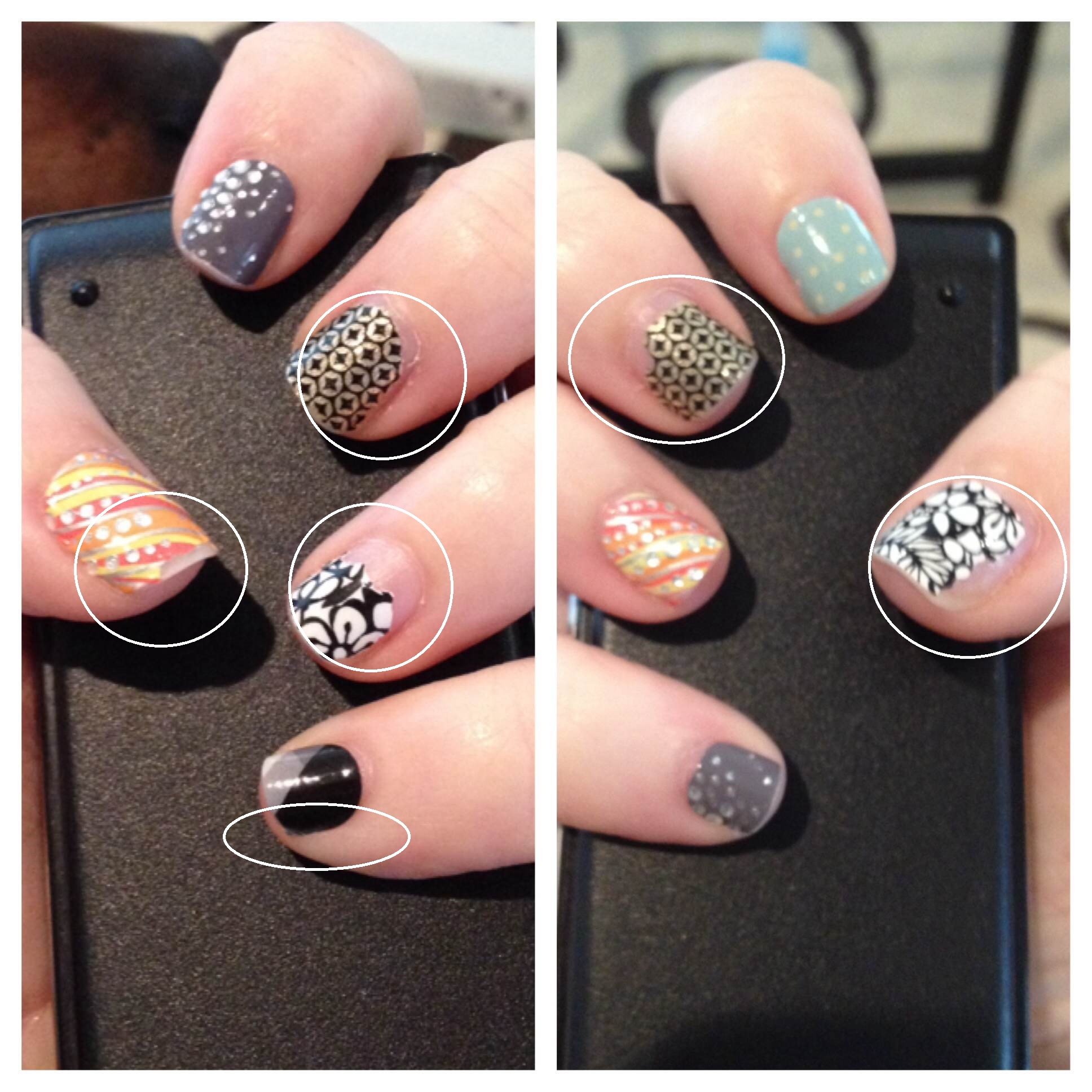 Jamberry vs. Competition vs. A Nail Polish Picker | Ditch Your Polish